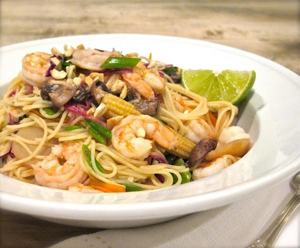 Quick Shrimp Pad Thai | Dinner | Pinterest