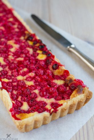 Redcurrant Tart {by Icing-Sugar.net}