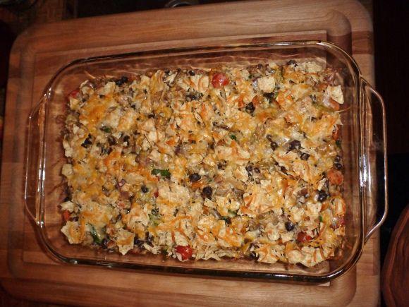 Chicken and black bean casserole | Nelle food | Pinterest