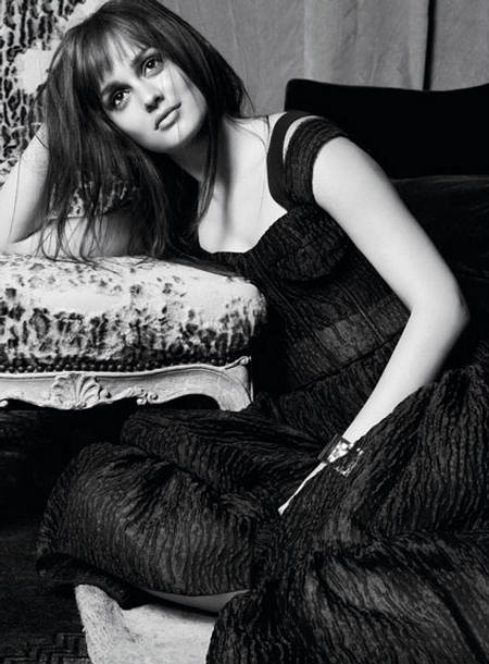 Leighton Meester Marie Claire US photographed by Tesh