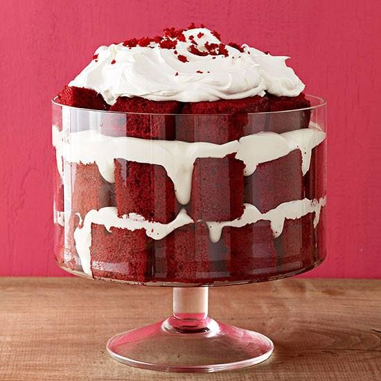 Red Velvet Trifle | Trifles Galore!!! | Pinterest
