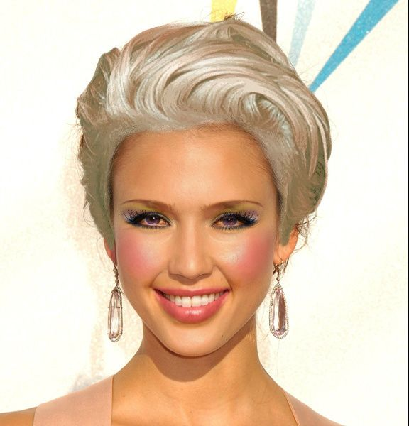 Excellent  Virtual Makeover Try On Hairstyles Makeup And Color Your Own Hair