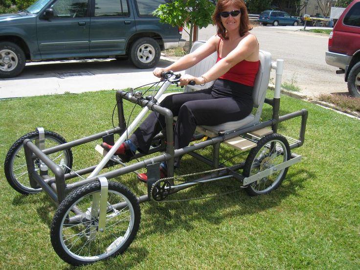 Веломобиль из велосипеда своими руками 32