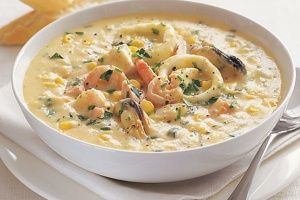 Seafood chowder   Desserts/food   Pinterest