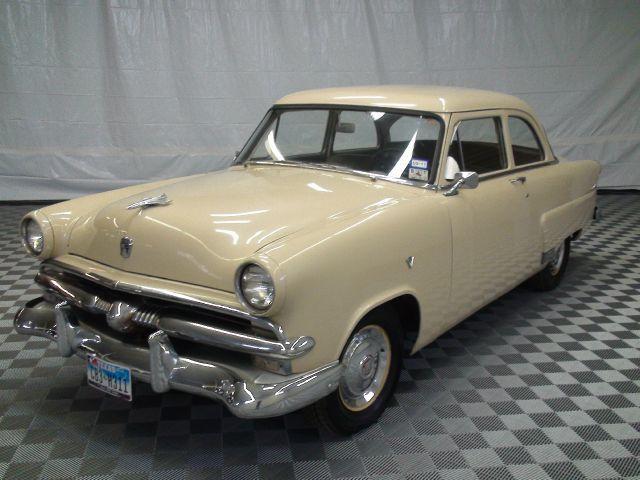 1953 ford customline 2 door sedan vintage retro fabulous