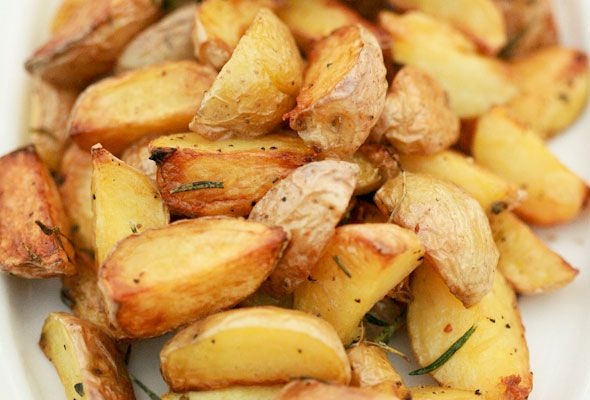 Roasted Potatoes on the Grill from Leite's Culinaria