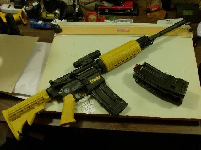 Images of Dewalt Nail Gun Rifle - #SpaceHero