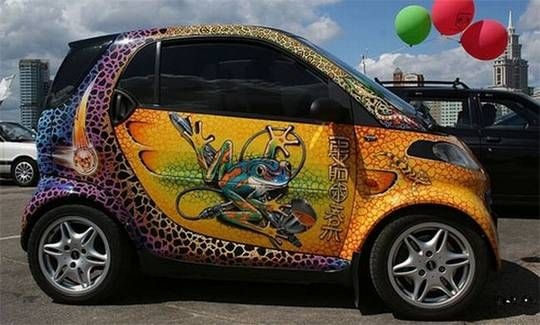 Pin by napox on art airbrush pinterest for Car paint designs pictures