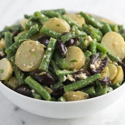 Feta, Green Beans and Potato Salad Recipe