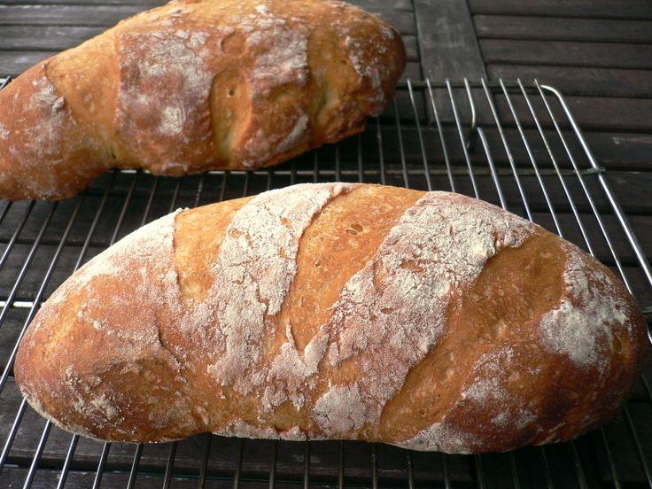 Crusty Bread Recipe | Bread | Pinterest