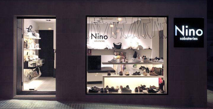 Nino shoe store by Dear design, Barcelona
