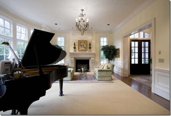 baby grand piano in living room music time pinterest