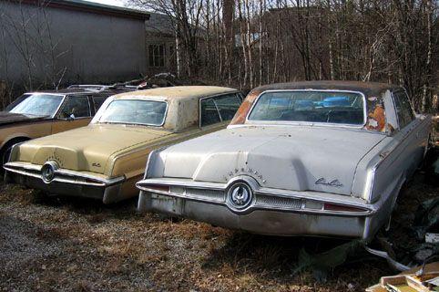 Abandoned US cars
