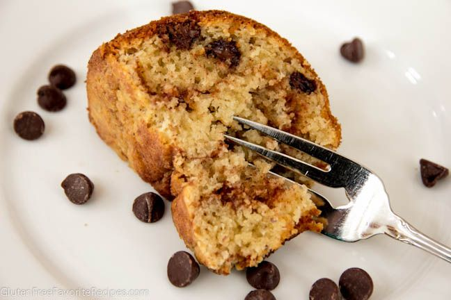 Chocolate Chip Coffee Cake (gf,df,soyf) sub for the butter and sour ...