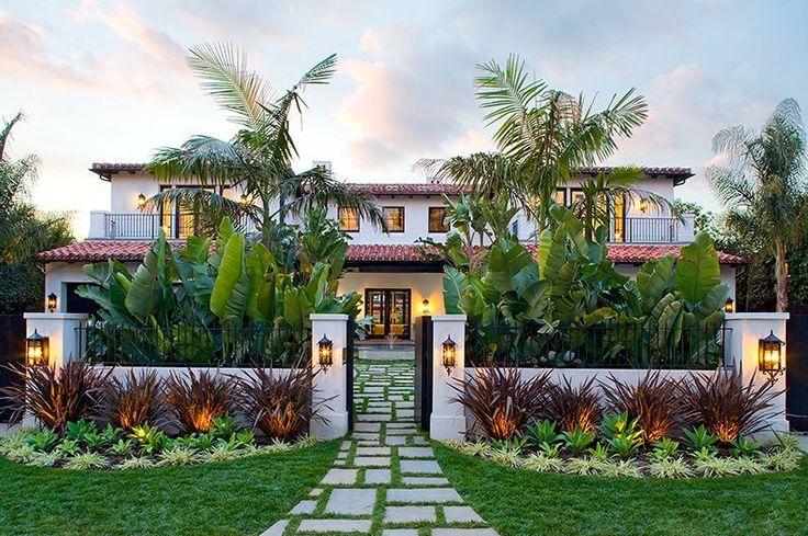 Landscape spanish style home backyard oasis ideas for Garden design ideas in spain