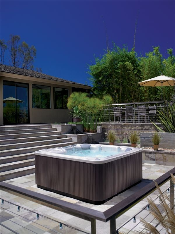 Installing Hot Tub In Backyard : for hot tub installation and deck design ideas for your hot tubs