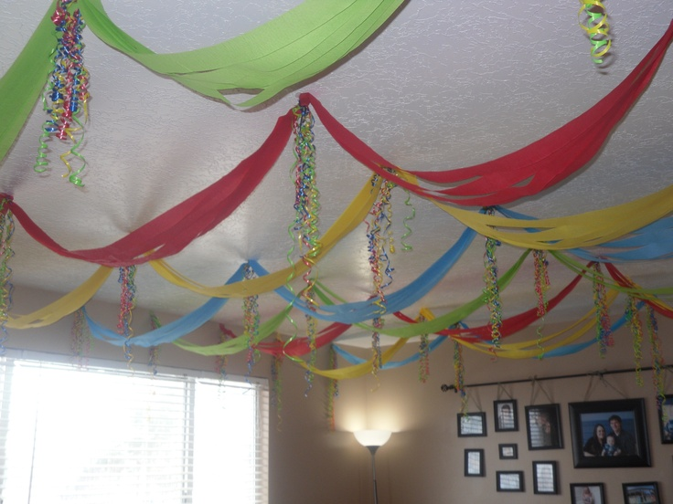 streamers curly ribbon birthday party decorations