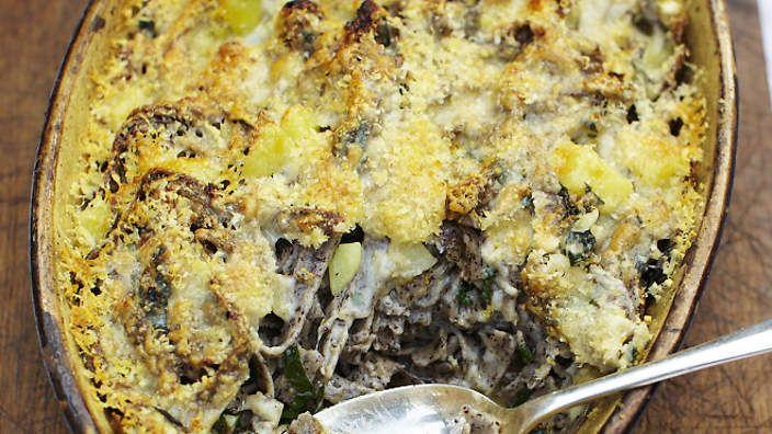Buckwheat pasta with potatoes and Swiss chard (pizzoccheri) recipe ...