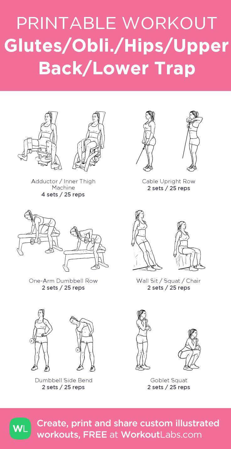Fitness workout routine pdf