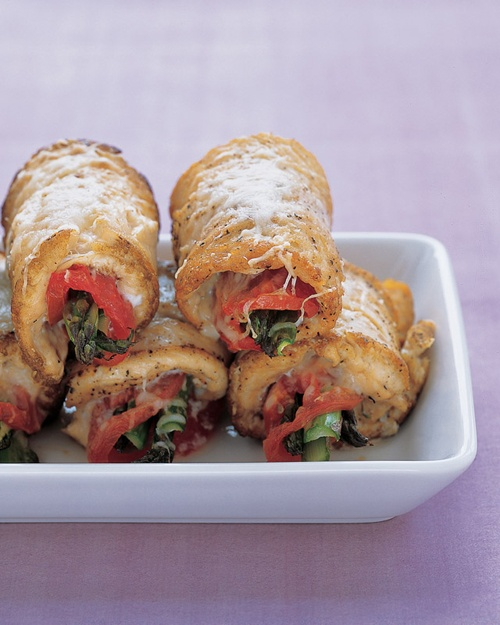Chicken and Asparagus Rolls | Recipe