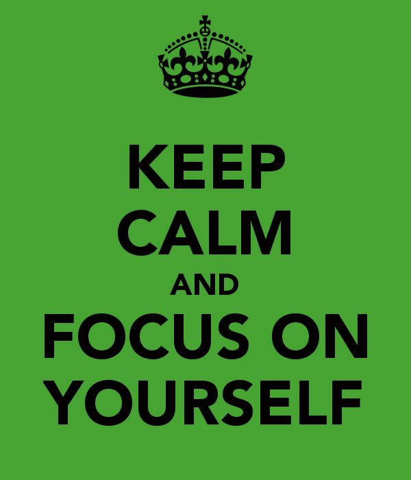 Focus On Yourself Quotes. QuotesGram