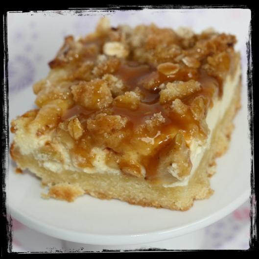 Caramel Apple Cream Cheese Cookie Bars Recipe — Dishmaps