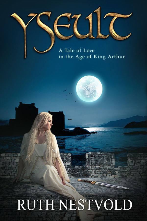 Historical Romance Book Cover : Yseult historical romance book cover tristan and
