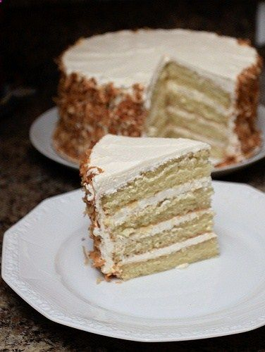 coconut rum cake.... | french macaroons and other treats. | Pinterest