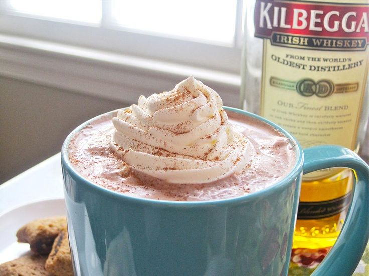 Hot Chocolate and Whiskey? Yes, Please! Hot Cocoa & Kilbeggan Whiskey ...
