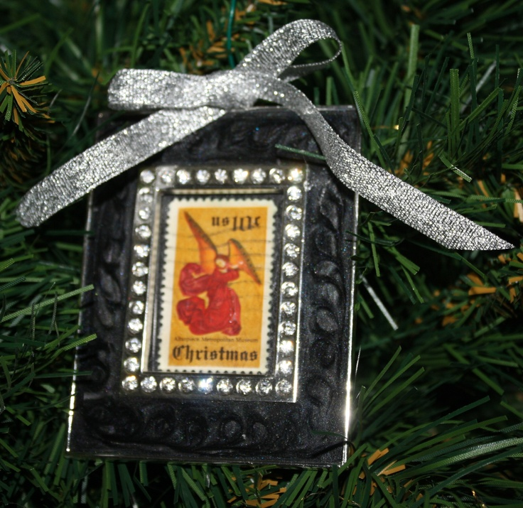 Christmas Postage Stamp Crafts