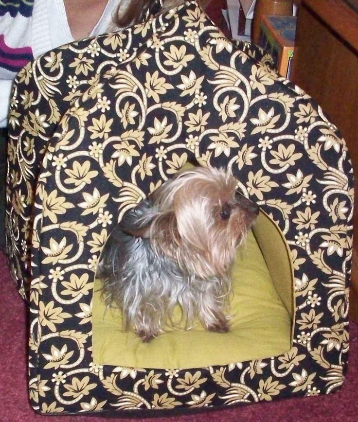 World Market pet bed / house.