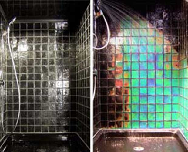 heat sensitive shower tiles our future home pinterest