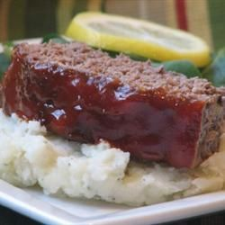 Glazed Meatloaf II Recipe