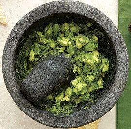 Guacamole With Roasted Chile, Cumin, And Feta Recipes — Dishmaps