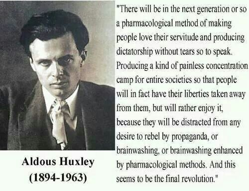 loss of humanity in brave new world by aldous huxley George orwell and aldous huxley's vision of the future was steeped in the understanding of mankind's nature elements of a brave new world can already be seen in society be it through big brother or a loss of self in the distractions of the senses through drugs.