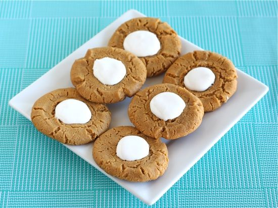 fluffernutter cookies | Food & Drink | Pinterest