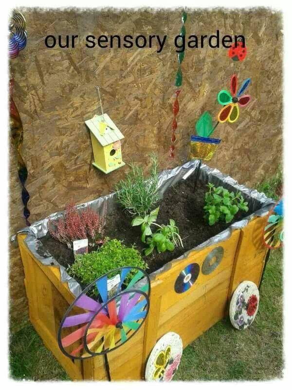 sensory garden sensory gardens pinterest