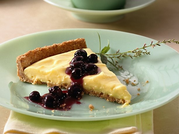 Blueberry-Lemon Tart | Luscious Lemon | Pinterest