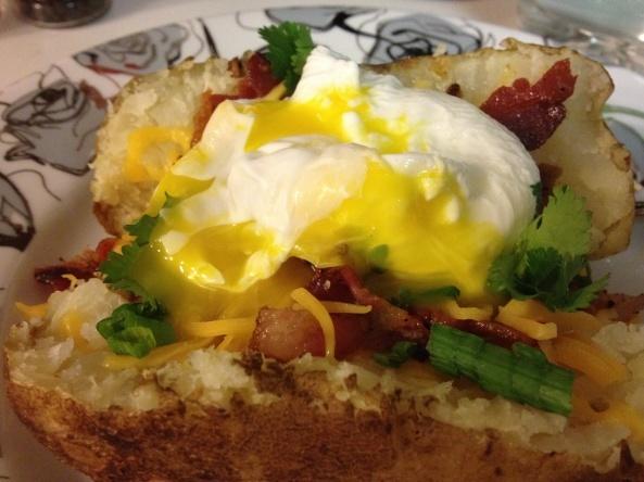 Breakfast Baked Potato | everything | Pinterest