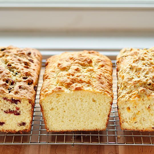 Basic Buttermilk Quick Bread, and Ten Variations. Great way to use up leftover buttermilk.