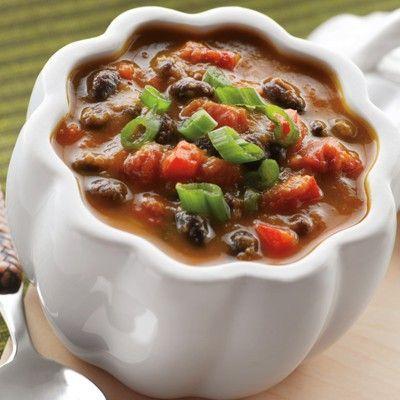 pumpkin/black bean soup. | *Soups, Stews n' Chilli | Pinterest