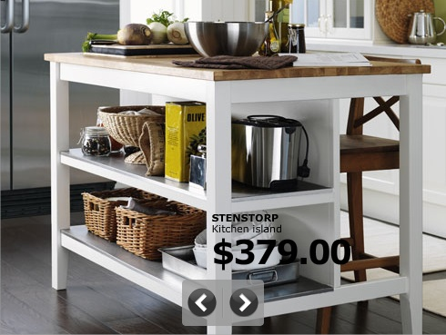 ikea kitchen island | For the Home | Pinterest