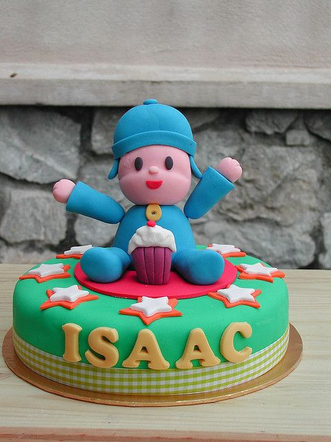 Pocoyo Cake | Flickr - Photo Sharing!