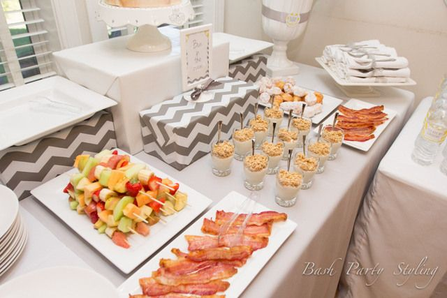 yellow grey brunch baby shower party ideas photo 18 of 23 catch