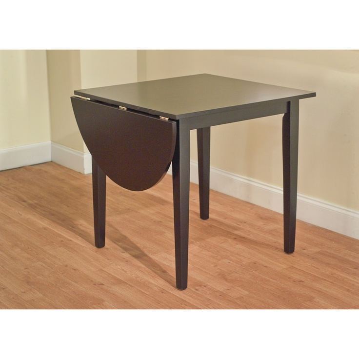 117 Country Cottage Black Drop Leaf Dining Table 30