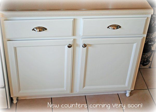 adding the finials would really spruce up my boring bathroom vanity