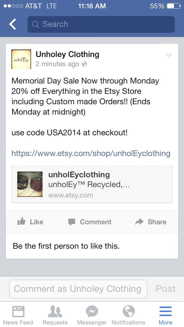 memorial day sale us