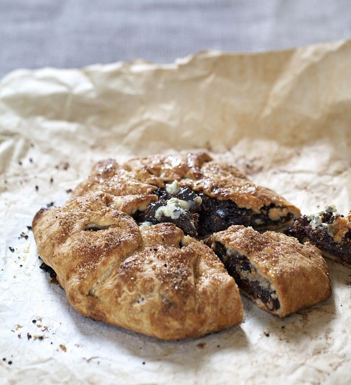 Fig Tart with Walnuts, Blue Cheese and Tasmanian Leatherwood Honey ...