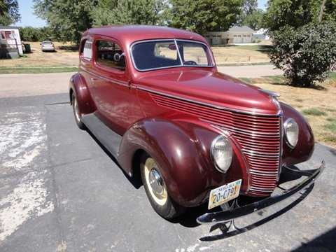 1938 door ford international sedan standard two for 1938 ford 4 door sedan