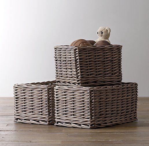normandy wicker shelf storage basket baby pinterest. Black Bedroom Furniture Sets. Home Design Ideas
